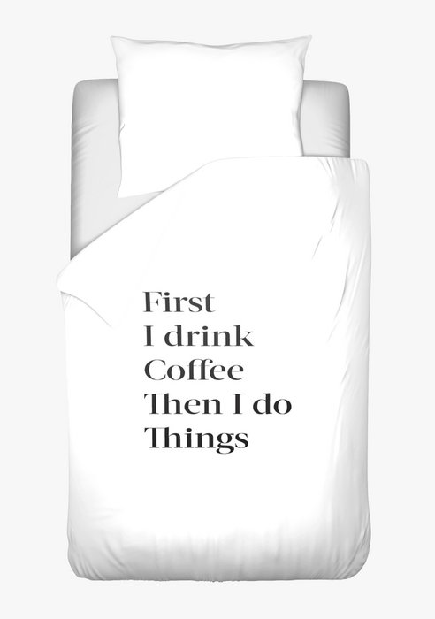 Dekbedovertrek Coffee First