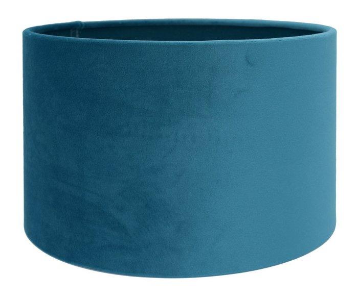 Lampenkap Cilinder VELOURS Casablanca Blue