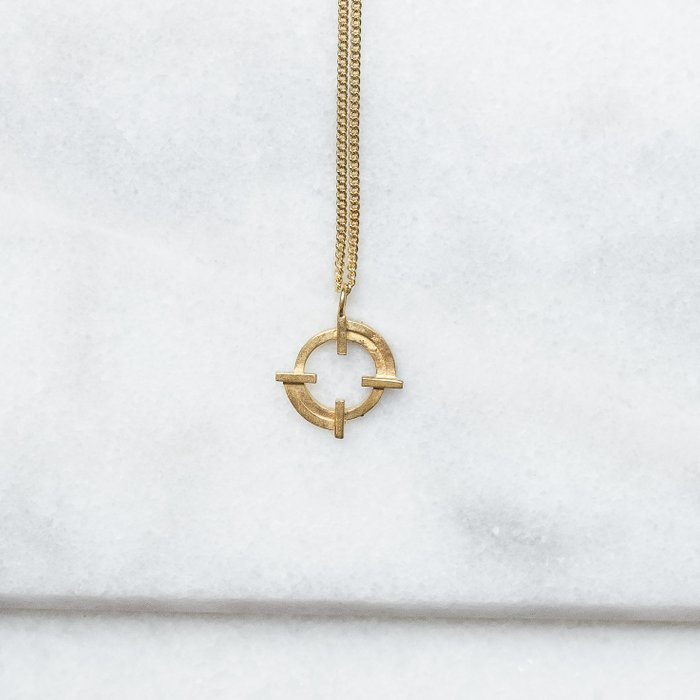 Imperfect balance necklace