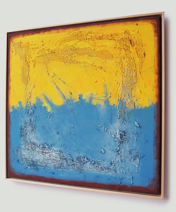 Schilderij met Lijst - Once in Yellow