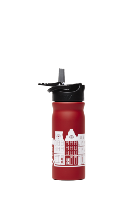 Dutchies Waterfles Red Canal Houses 400 ml