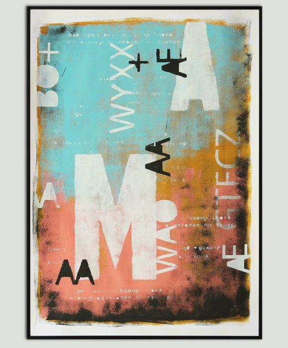 Art Print - Typopop Serie