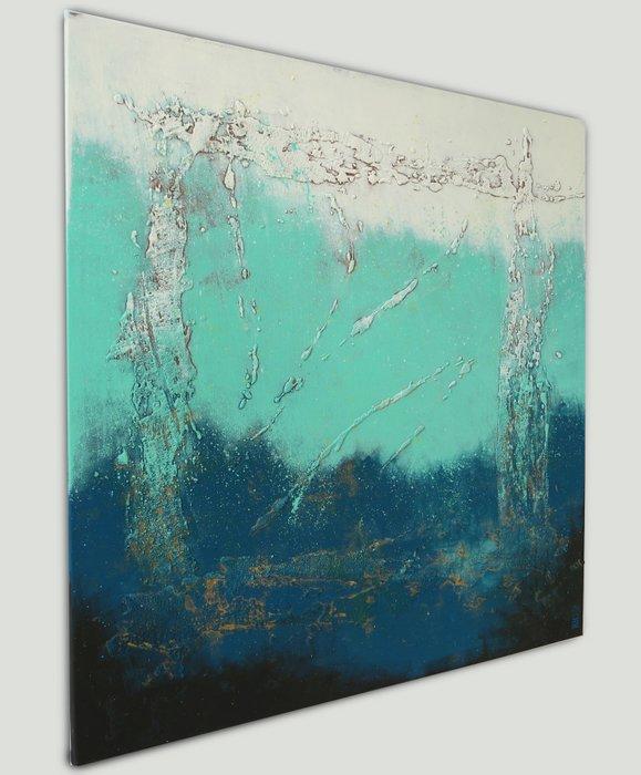 Schilderij - Oceanic Square Light