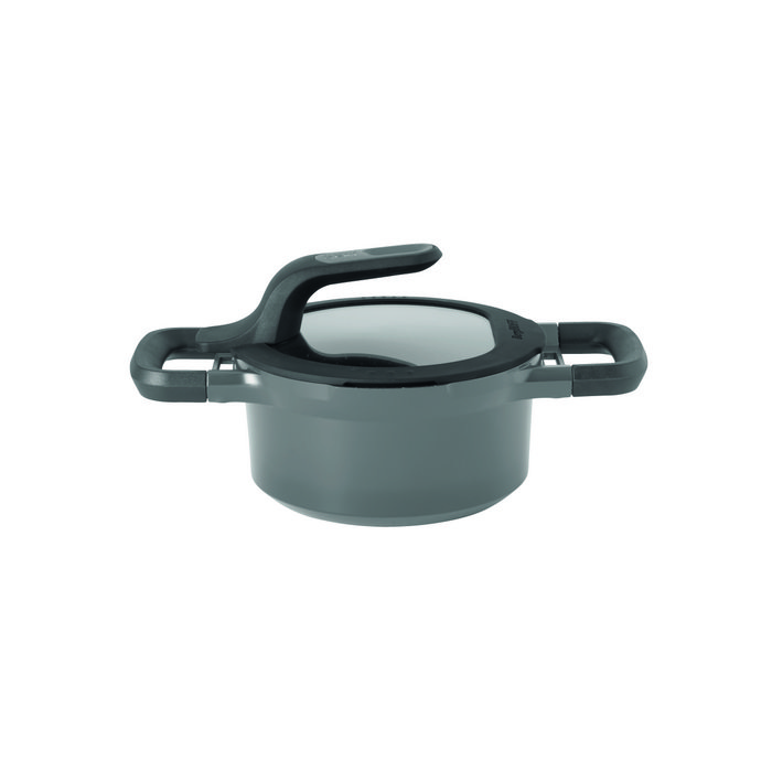 Covered casserole 16cm Stay Cool Grey - 1.5L