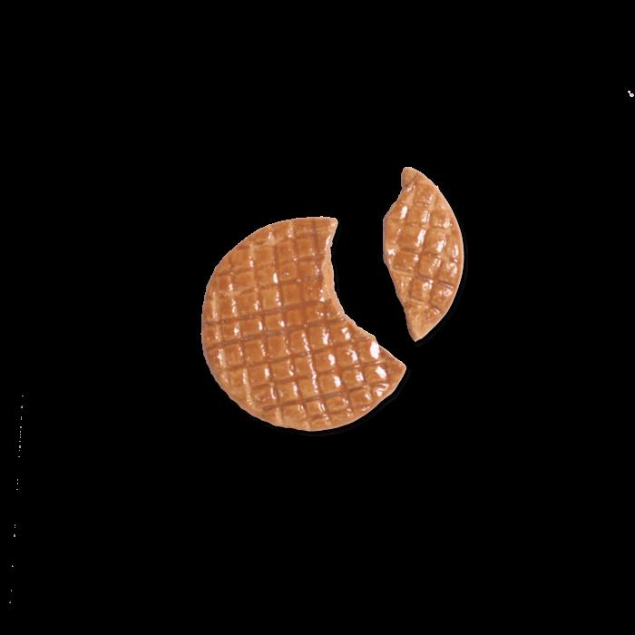 Broken stroopwafel pin