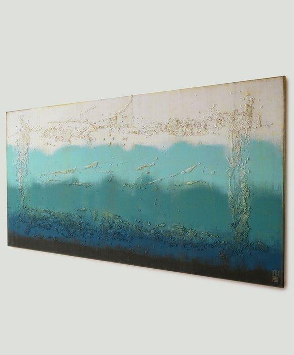 Schilderij - Oceanic Blues