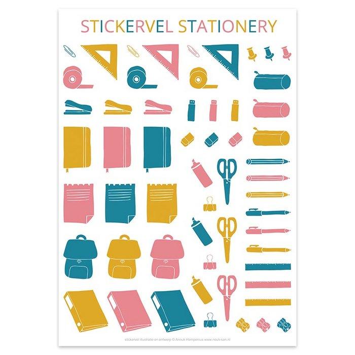 Stickersheet Stationery