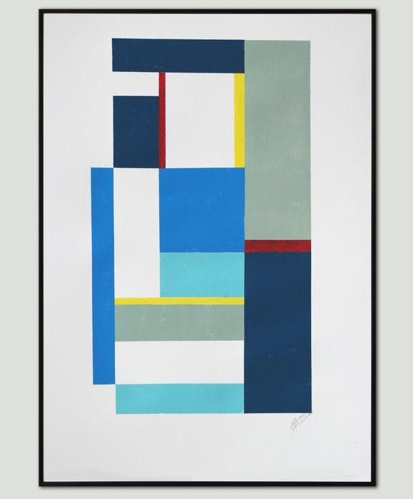 Art Print - Cubistic Modern Serie