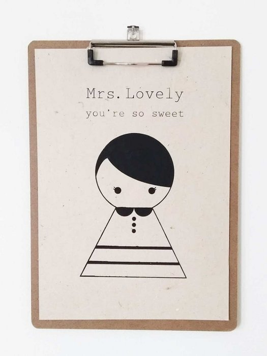 A4 Mrs Lovely