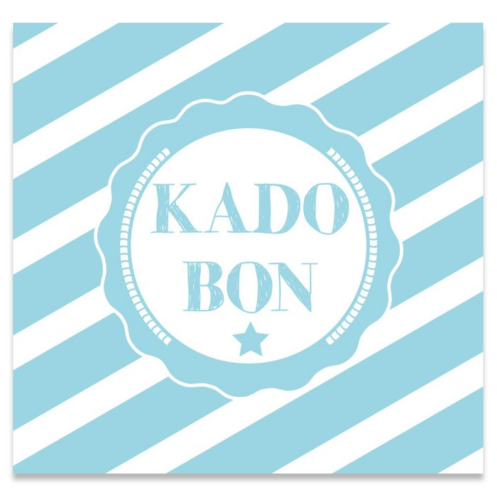 Kadobon Present Daily Strongly Blue