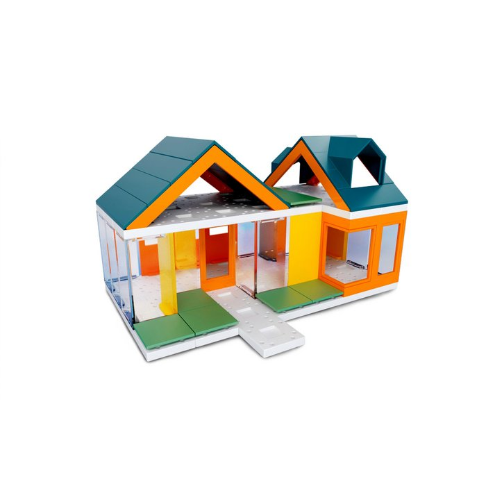 Mini Dormer Colours 2.0, Kids Architect Scale House Model Building kit