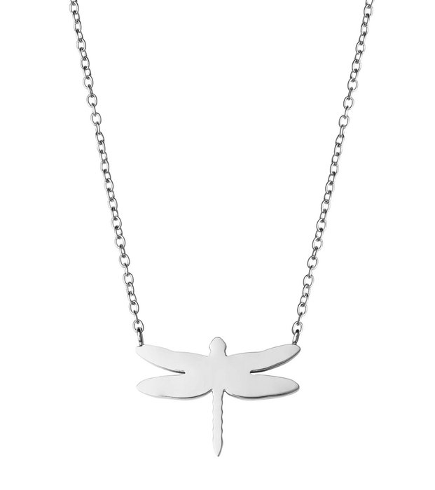 Dragonfly Necklace steel