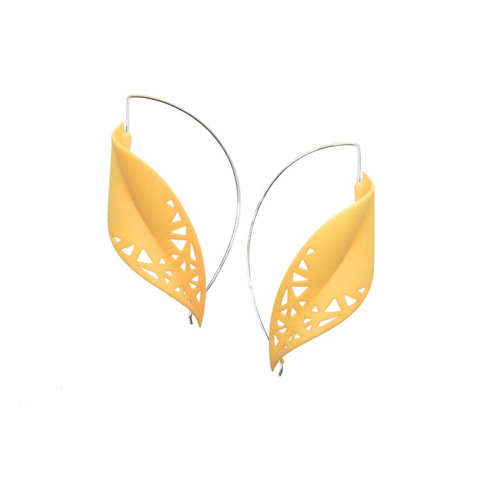 LEAF Earrings Citrus