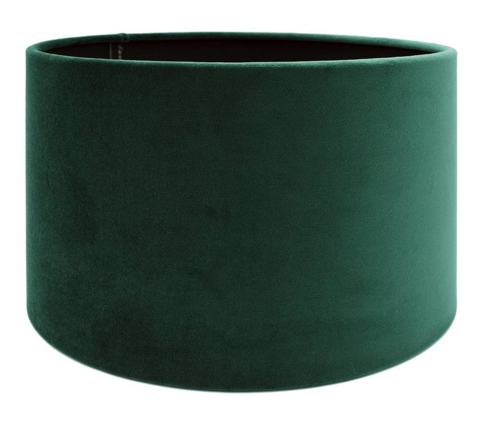 Lampenkap Cilinder VELOURS Dutch Green