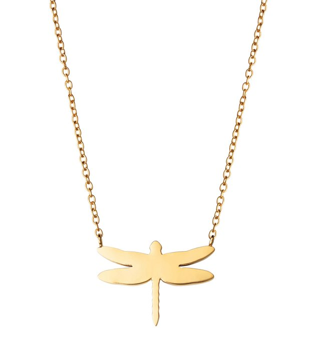 Dragonfly Necklace goldplated