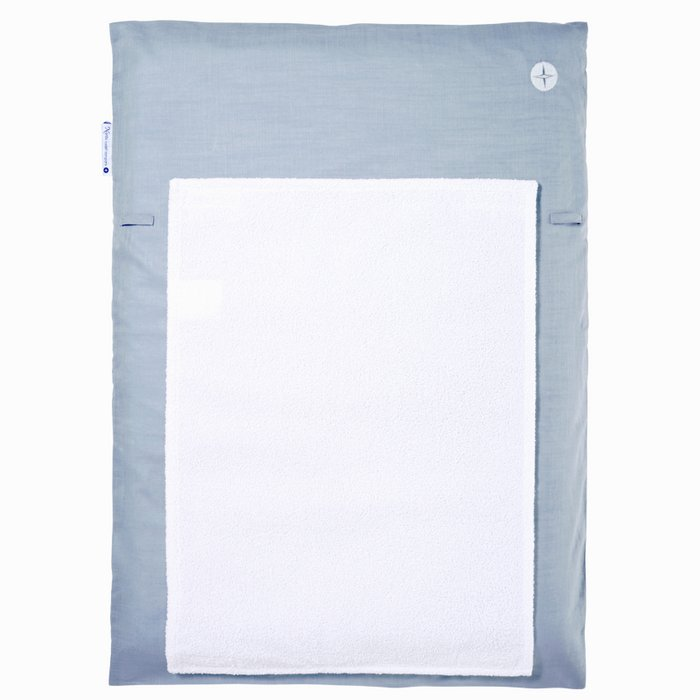 Blue-grey small changing mat