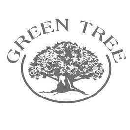 Green Tree Candle